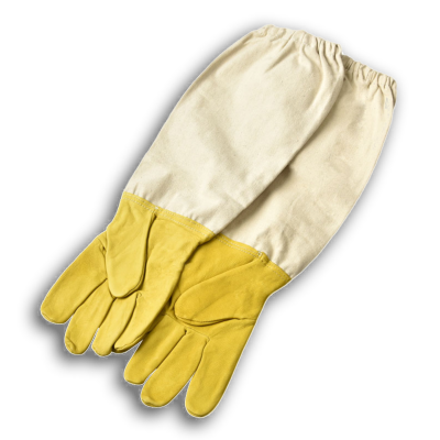 Sheepskin Beekeeping Gloves - Beekeeping Equipment